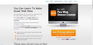 Pro web design course